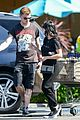 levi meaden ariel winter couple up for grocery store run 01