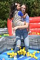 bailee madison lauren alaina help distribute backpackswith blessings in a backpack 03