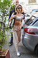 bella hadid bares her abs on missoni runway 08
