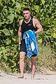 colton haynes miami vacation after arrow wrap 01