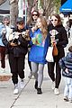bffs joey king sabrina carpenter have fun after sunday brunch 03