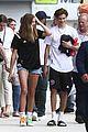 romeo beckham girlfriend mia regan keep close family soccer practice 05