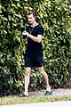 shawn mendes chats on facetime call during morning stroll 04