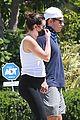 lea michele zandy reich pregnant baby bump stroll 55