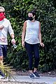 pregnant lea michele goes for hike with zandy reich mom 02