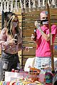 ruby rose bella thorne attend a drive by birthday party 07