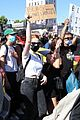 cole sprouse kaia gerber black lives matter protest 03