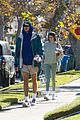 jacob elordi short shorts workout with kaia gerber 01