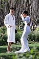 harry styles olivia wilde hold hands while attending managers wedding 59