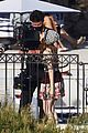 lily collins shooting emily in paris season two 47