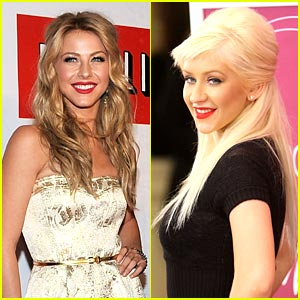 Julianne Hough Joins Burlseque Cast