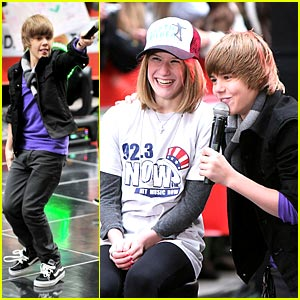 Justin Bieber Performs On The Today Show