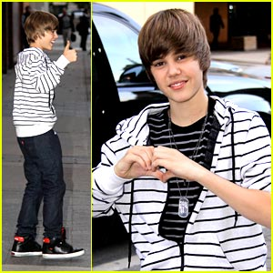 Justin Bieber Hearts We Day