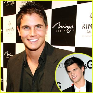 Robbie Amell on Taylor Lautner: He's Bigger Than Me!