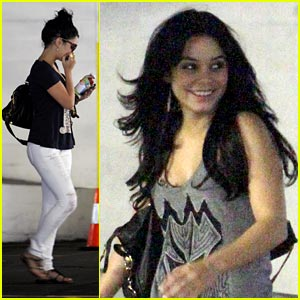 Vanessa Hudgens: White Jeans Wonderful