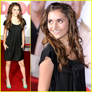 Alyson Stoner Premieres Old Dogs