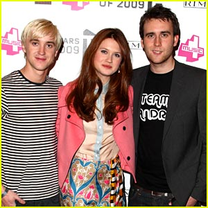 Bonnie Wright & Tom Felton: T2 Terrific