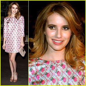 Emma Roberts is Prada Pretty
