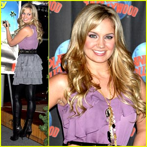 Tiffany Thornton is Planet Hollywood Pretty