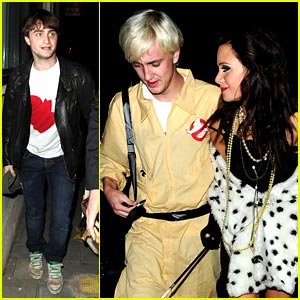 Tom Felton: Who You Gonna Call? Ghostbusters!