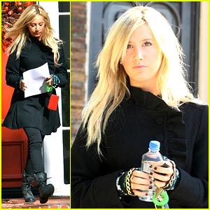 Ashley Tisdale is Bold in Black