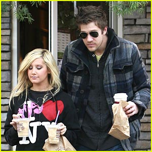 Ashley Tisdale & Scott Speer: Going To Disneyland!