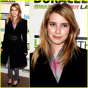 Emma Roberts is Labyrinth Lovely
