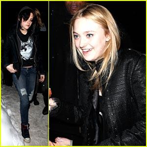 Kristen Stewart & Dakota Fanning: Blackheart Buds