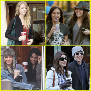 Celebs Who Love Their Coffee!