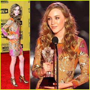 Saoirse Ronan Wins Best Young Actor at Critics' Choice Awards 2010
