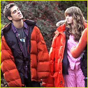 Debby Ryan &#038; Jean-Luc Bilodeau Film '16 Wishes'