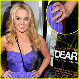 Tiffany Thornton is Engaged!
