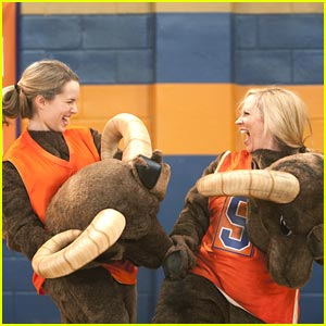 Bridgit Mendler &#038; Leigh-Allyn Baker: Mascot Mates!