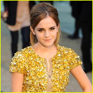 Emma Watson Takes The Stage at Brown University