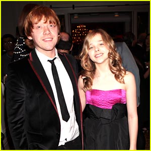 Rupert Grint & Chloe Moretz: Empire Awards 2010