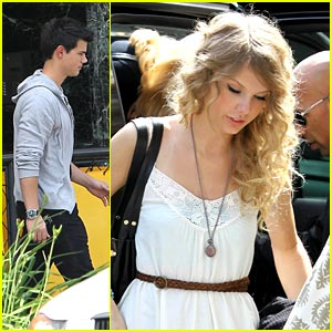 Taylor Swift & Taylor Lautner: Farm Friends