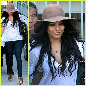 Vanessa Hudgens Makes A Wish with Kevin James