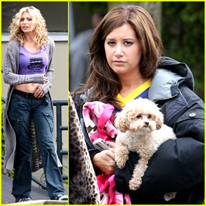 Ashley Tisdale & Aly Michalka: Go Hellcats!