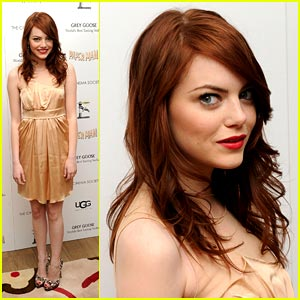 Emma Stone is Paper Man Pretty