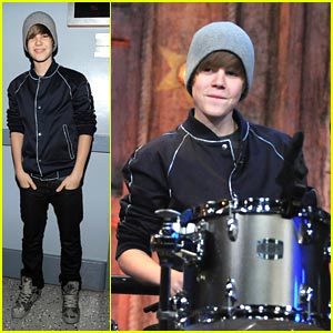 Justin Bieber: Drum Duet on Jimmy Fallon