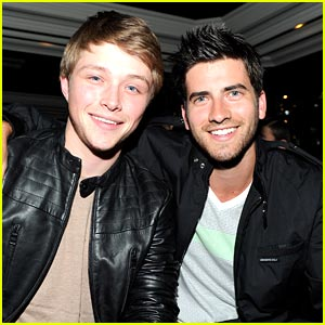 Sterling Knight & Ryan Rottman: Nylon Party Pals