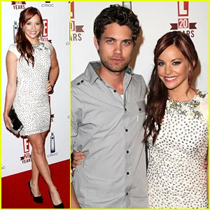 Drew Seeley & Amy Paffrath Celebrate E!