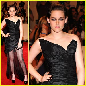 Kristen Stewart: Costume Institute Gala Benefit Beauty
