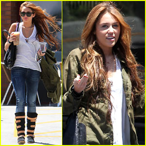 Miley Cyrus: MANDY JIROUX REUNION!