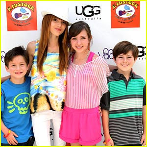 Bella Thorne & Ryan Newman are Kidstock Cute