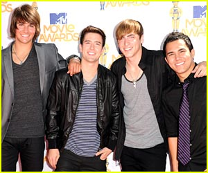 Big Time Rush -- MTV Movie Awards 2010
