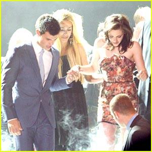 Kristen Stewart & Taylor Lautner are Hovet Hotties