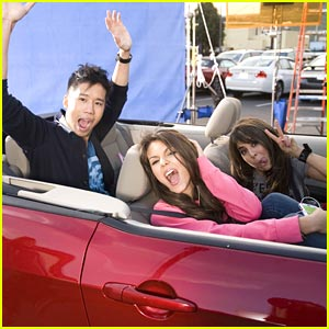 Just Jared on Victorious -- FIRST LOOK CLIP!
