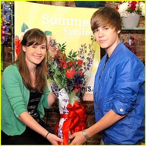 Justin Bieber's Valentine: Lauren Kososki!
