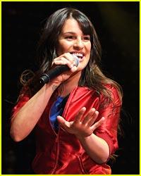 Lea Michele: Tony Award Performer!